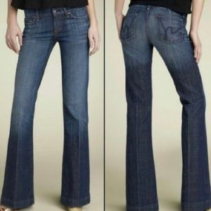 Citizens Of Humanity Low Waist Full Leg Jeans